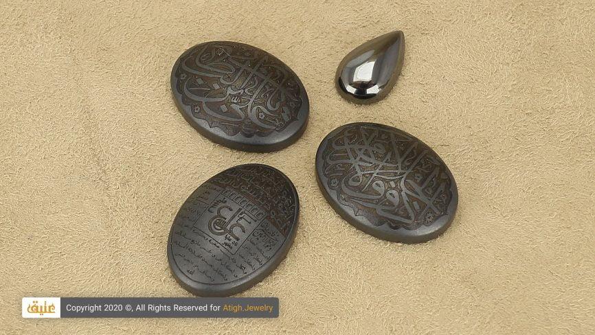 نگین سنگ حدید هماتیت Hematite