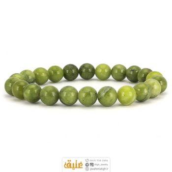 دستبند جاسپر کریزوتین سبز