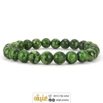 دستبند ابسیدین سبز