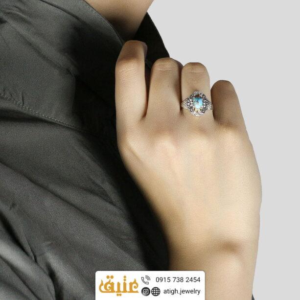 انگشتر فیروزه نیشابوری