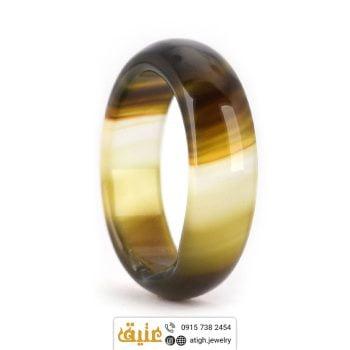 حلقه عقیق سلیمانی