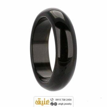حلقه عقیق سیاه