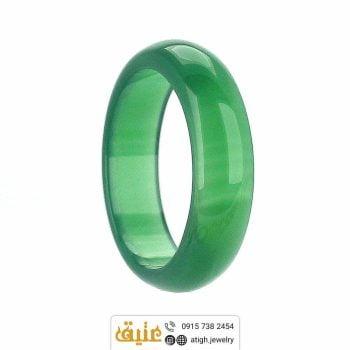 حلقه عقیق سبز
