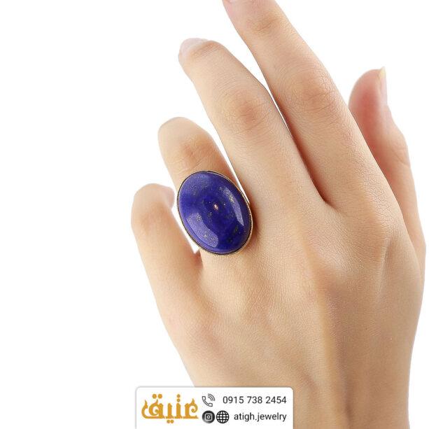 انگشتر لاجورد