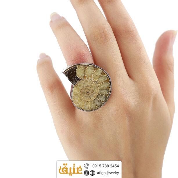 انگشتر فسیل