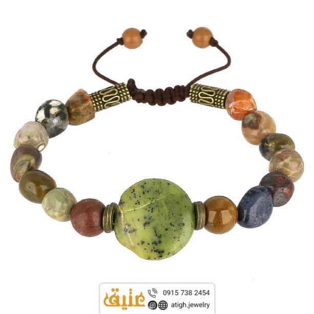 دستبند چندجواهر