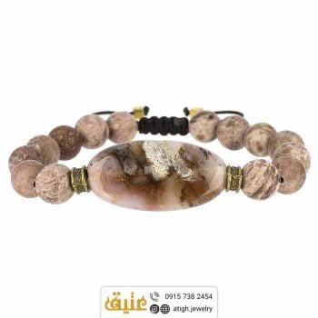 خرید دستبند عقیق و سرپنتین