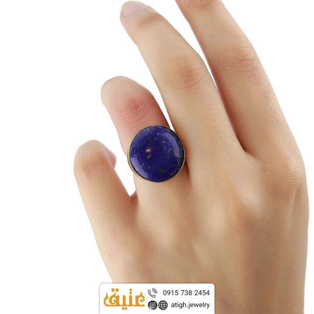 خرید انگشتر لاجورد