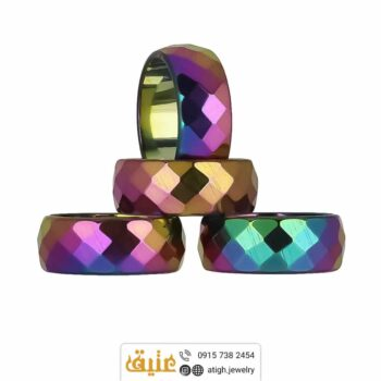 حلقه حدید هفت رنگ