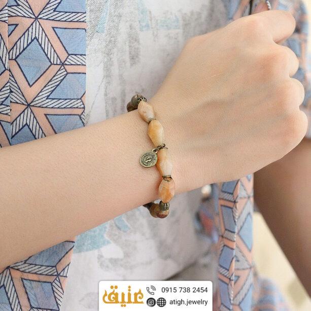 خرید دستبند آونتورین