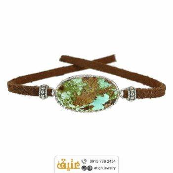 خرید دستبند فیروزه نیشابوری