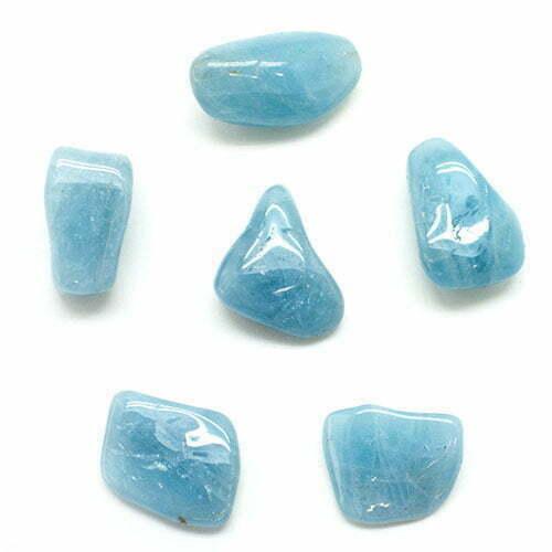 سنگهای درشت و خوشرنگ آکوامارین