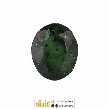 خرید نگین یاقوت سبز کبود