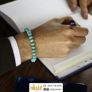 خرید دستبند فیروزه