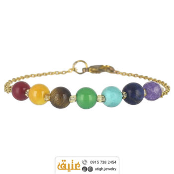 خرید دستبند هفت سنگ چاکرا