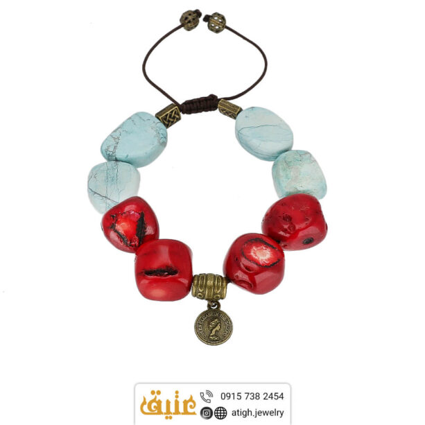 خرید دستبند لوکس مرجان