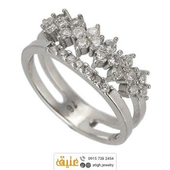 خرید انگشتر نقره زنانه
