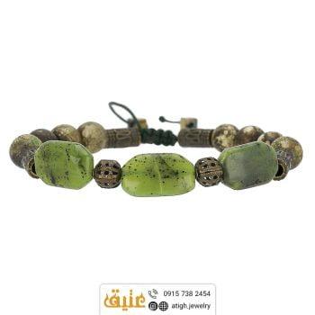 خرید دستبند یشم کانادایی