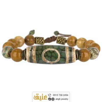 خرید دستبند آنتیک لول تبتی
