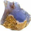 سنگ عقیق کلسدونی Chalcedony Agate