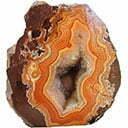 سنگ عقیق نارنجی Orange Agate