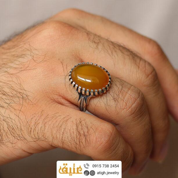 خرید انگشتر نقره شرف الشمس