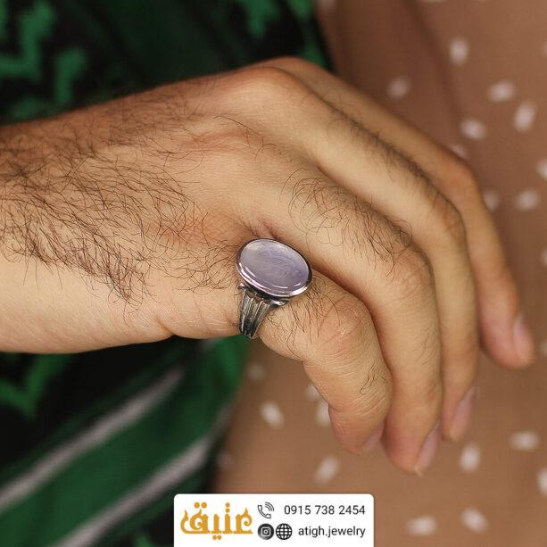 خرید انگشتر نقره عقیق