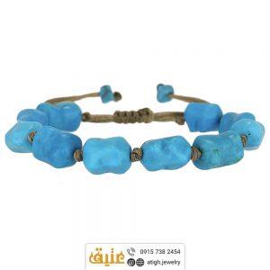 خرید دستبند فیروزه معدنی