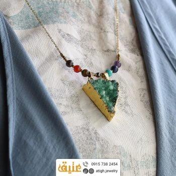 خرید سینه ریز هفت سنگ چاکرا سنگهای قیمتی