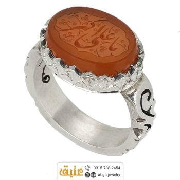 خرید انگشتر عقیق یمنی