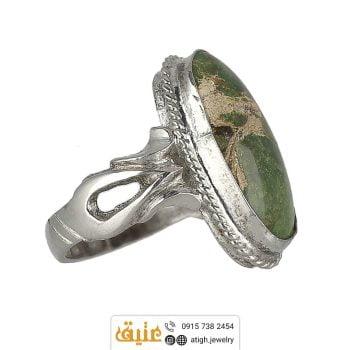 خرید انگشتر نقره فیروزه