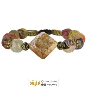 خرید دستبند عقیق شجری