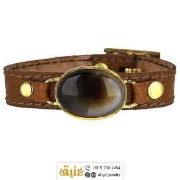 خرید دستبند چرم طبیعی