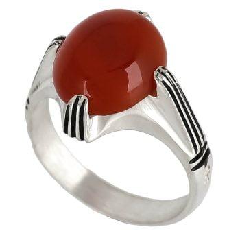 انگشتر عقیق سرخ (قرمز)