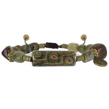 خرید دستبند چند جواهر لابرادوریت