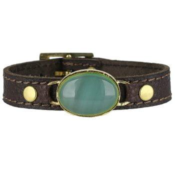 خرید دستبند عقیق سبز