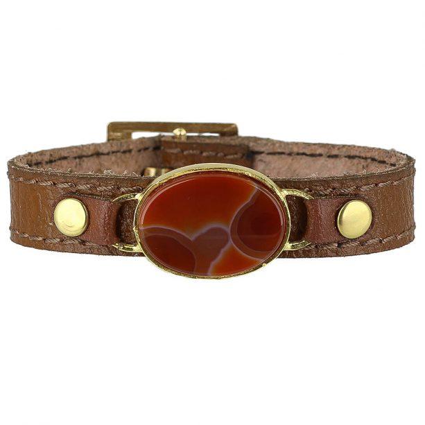 خرید دستبند عقیق کارنلین