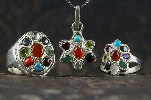 محصولات چند جواهر ۹ سنگ معدنی