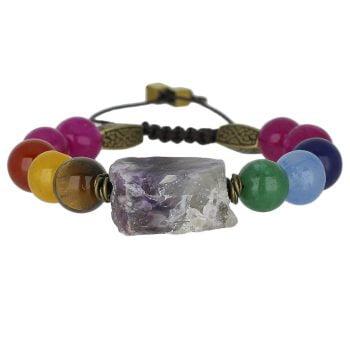 خرید دستبند هفت سنگ
