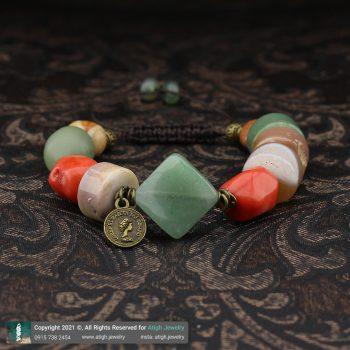 خرید دستبند یشم و مرجان