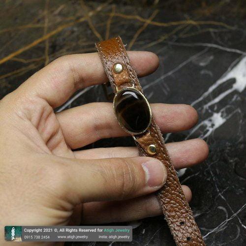 خرید دستبند چرم