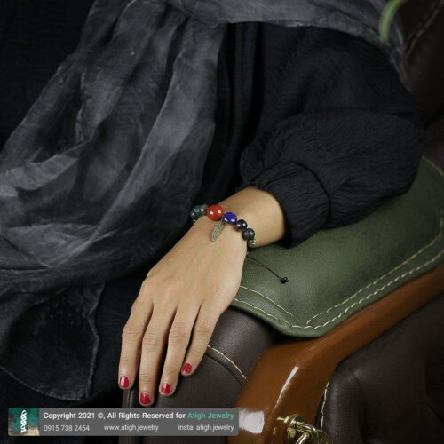 خرید دستبند چند جواهر