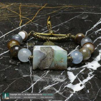 خرید دستبند چندجواهر