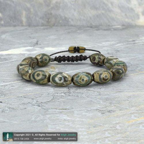 دستبند عقیق تبتی